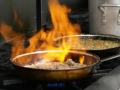 cooking flame